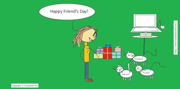 Happy friend's day