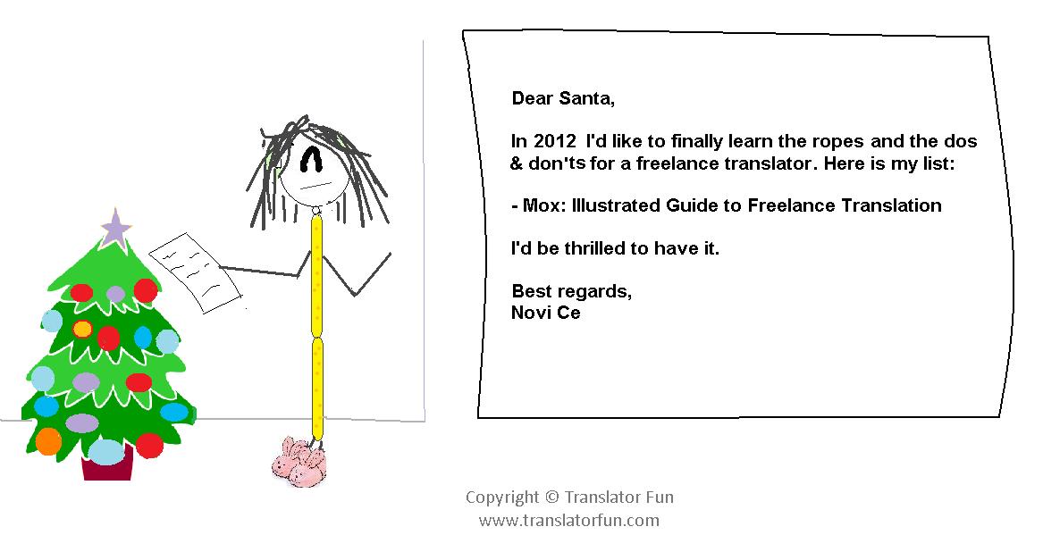 a freelance translator s letter to santa translator fun