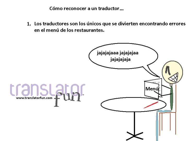 Cómo reconocer a un traductor I (puedes hacer clic en la imagen para agrandarla)