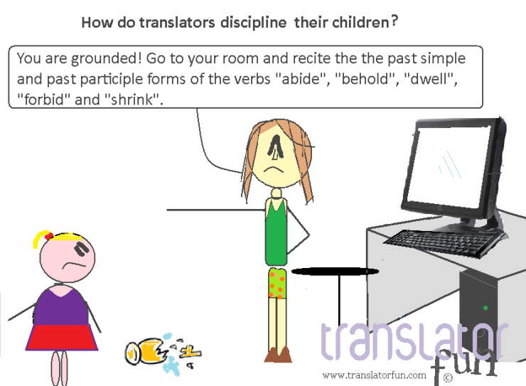 How do translators discipline their children? (click on the image to enlarge)