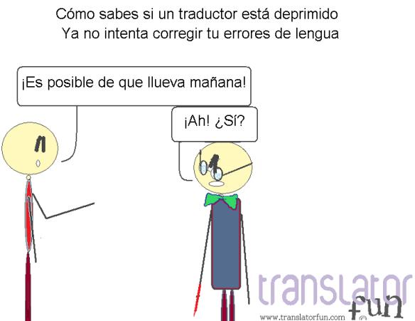 Cómo sabes si un traductor está deprimido (haz clic en la imagen para agrandarla)
