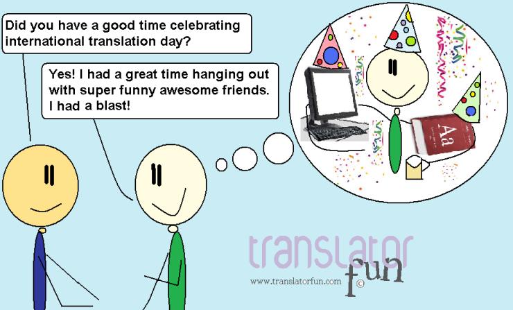 International Translation Day (September 30) (click on the image to enlarge)