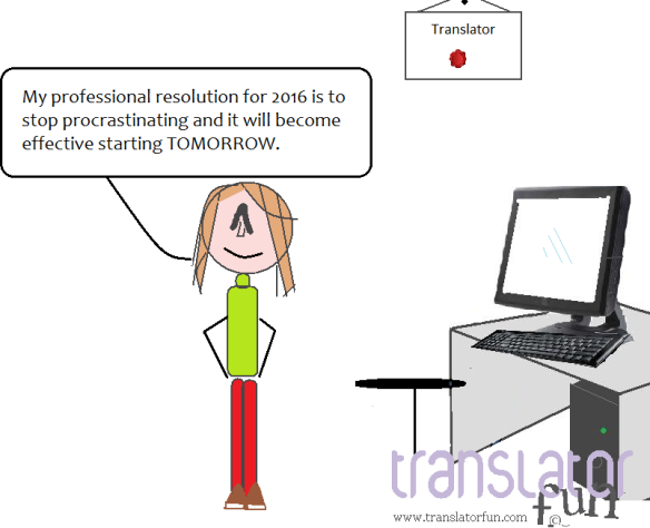 Professional resolutions for translators