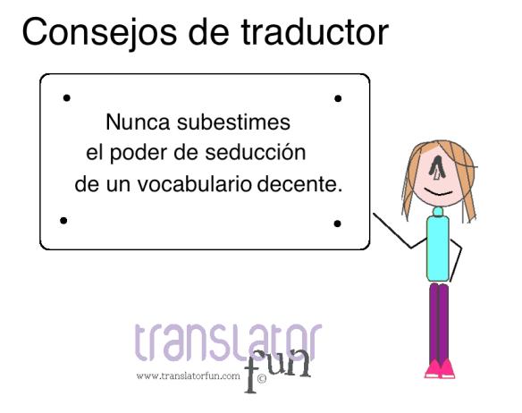 Consejos de traductor