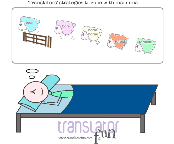 Translators coping with insomnia
