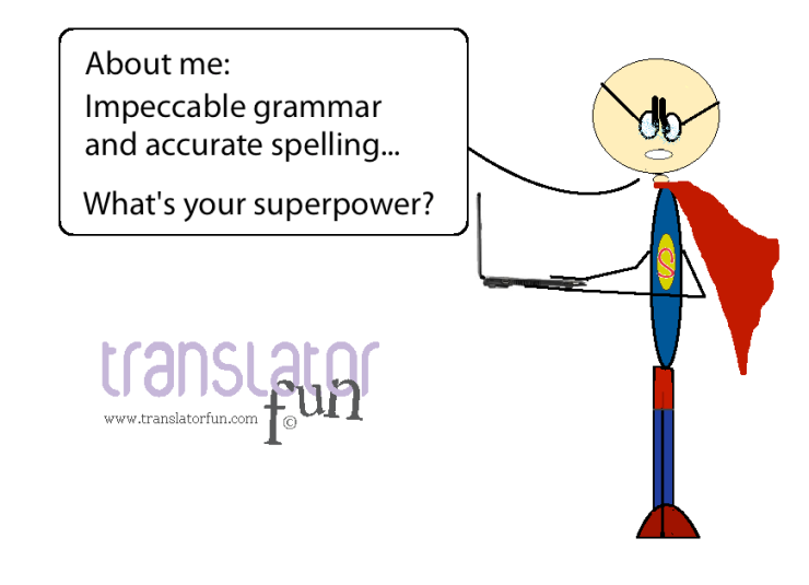 Translator superhero