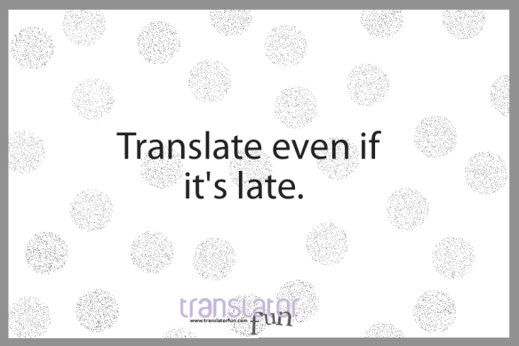 translator, translate!