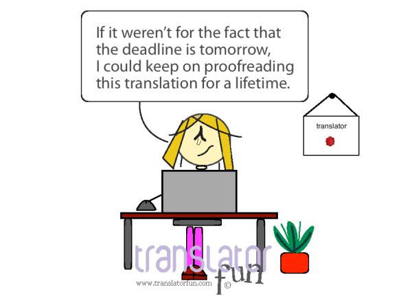 Translator with a deadline