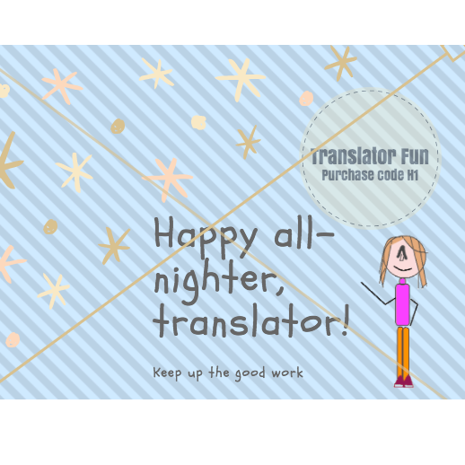 Happy all-nighter, translator!