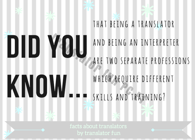 Facts about translators to educate your clients