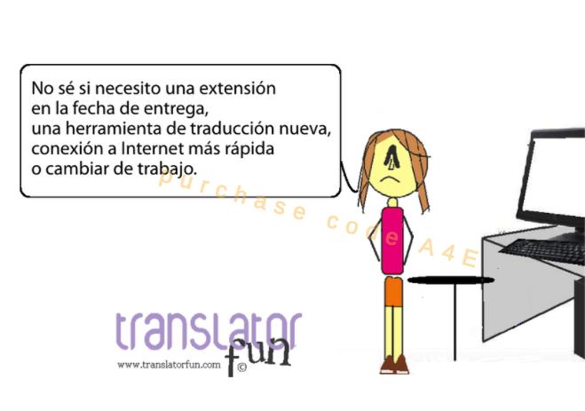 Duda existencial de un traductor
