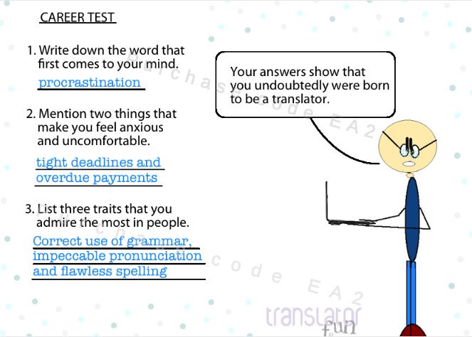 Career Test For Translators