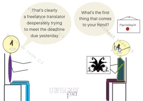 A translator at the Psychologist