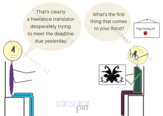 A translator at the Psychologist