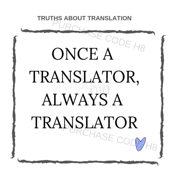 Truths about translation