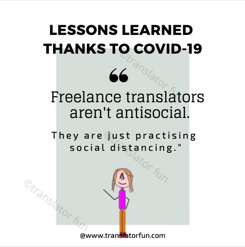 Freelance translators during COVID-19
