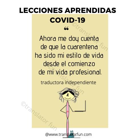 COVID-19: lecciones aprendidas