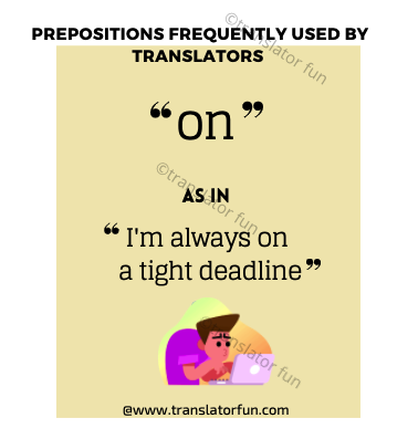 Prepositions on