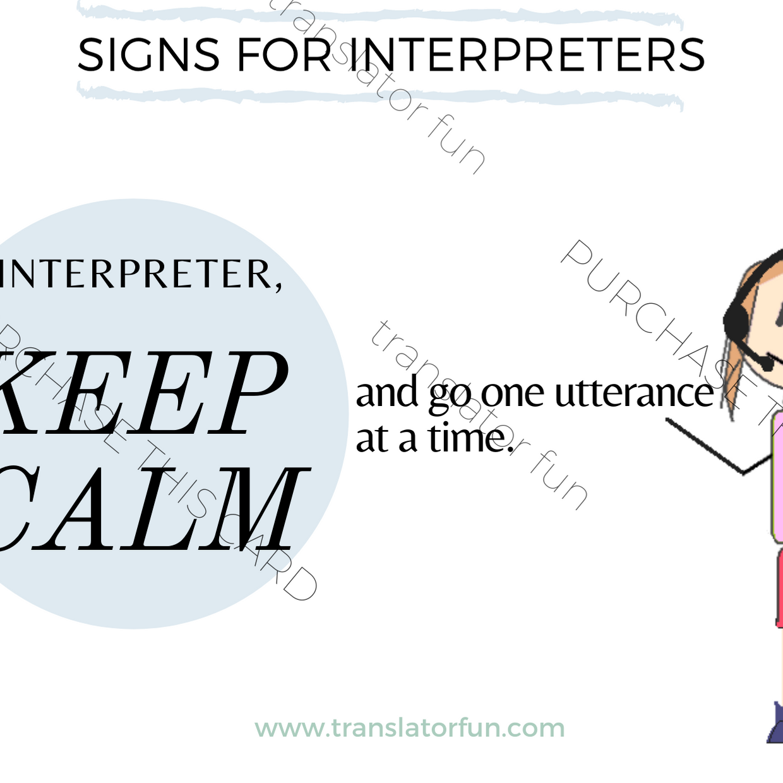 Keep calm and interpret