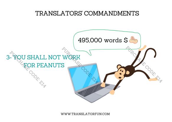 Translators' commandments