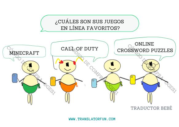 Juegos en línea para traductores