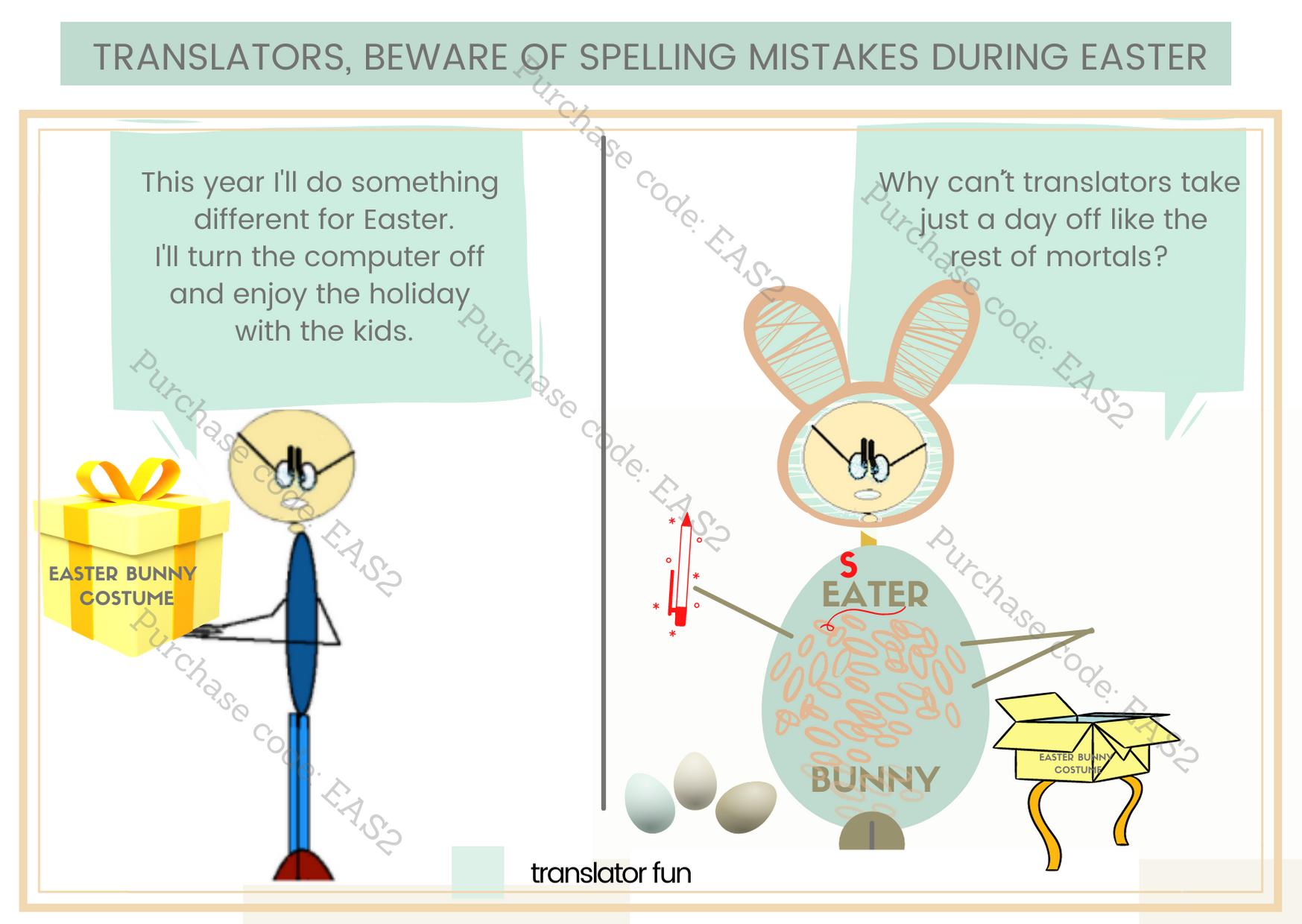 Translators at Easter